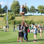 Cheerleading - Rockin' at the Outdoor Rec