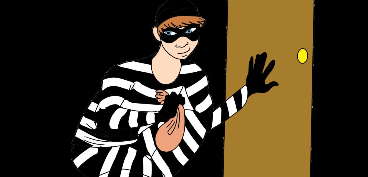 Criminal breaks in graphic