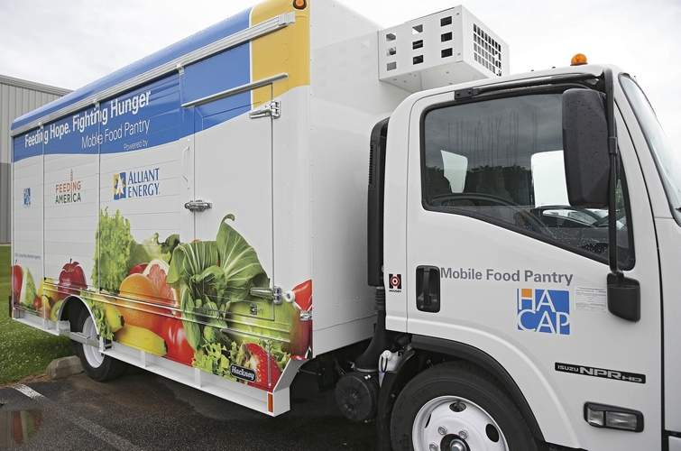 HACAP Mobile Food Pantry Truck