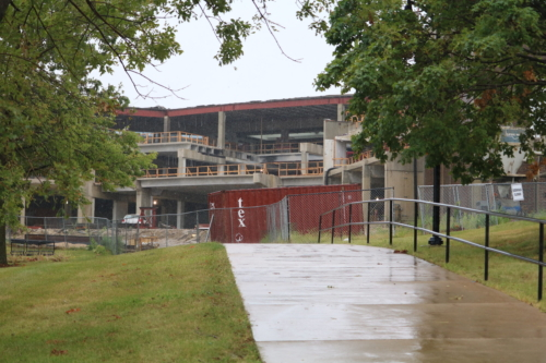 Iowa Hall construction