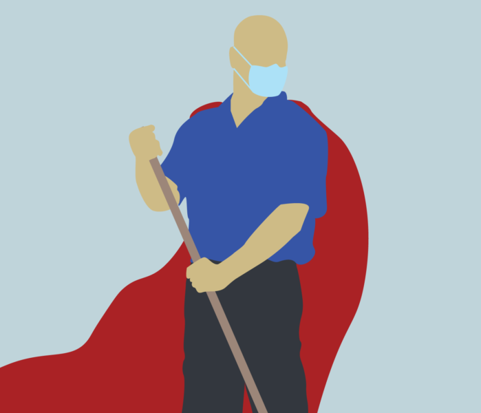 Super Hero Custodian