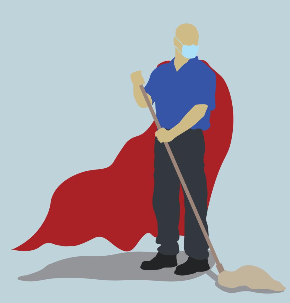 Super Hero Custodian