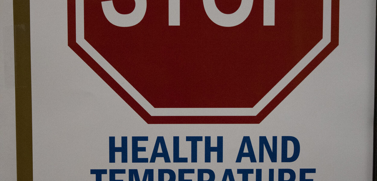 STOP: Health and temp check