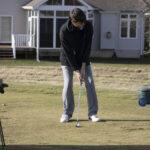 Golf Practice Photos