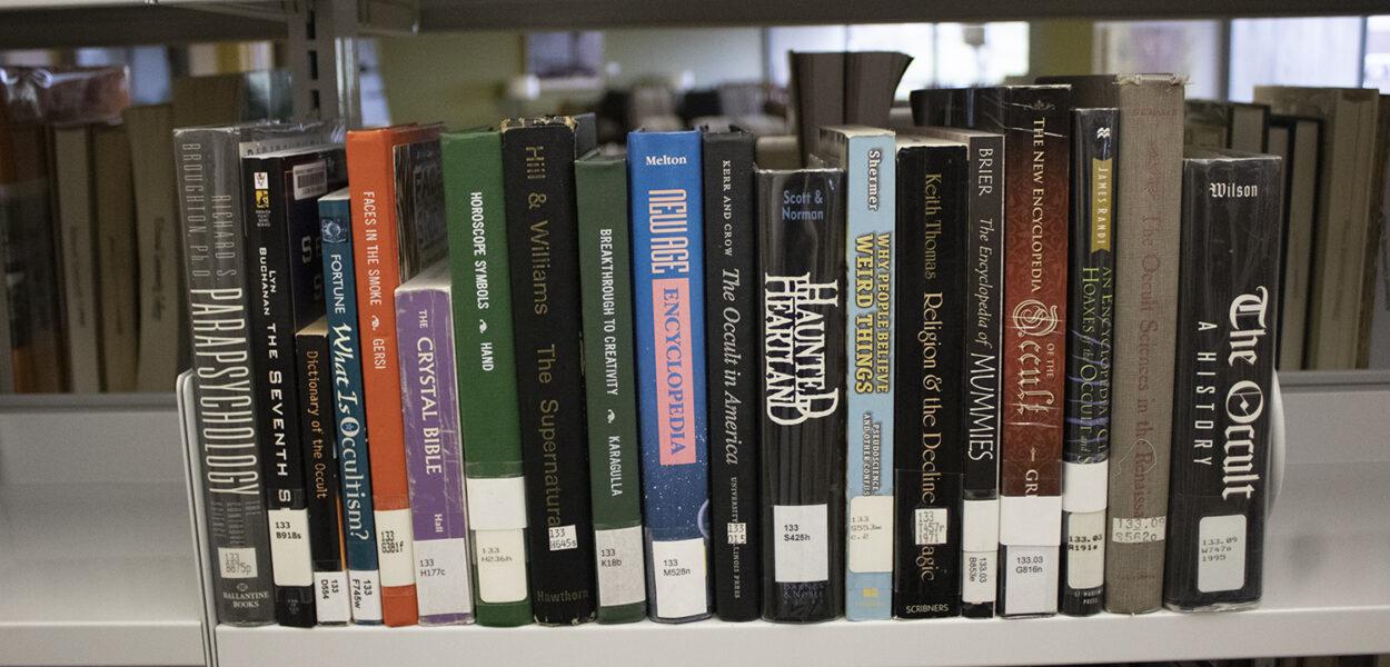 Unique library books