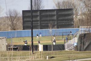 Baseball spring practice