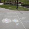 Active Minds hosts Chalk It Out event