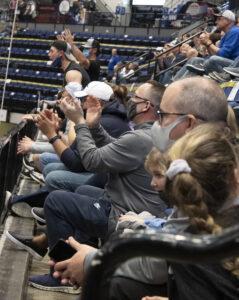 Kirkwood fans cheer on team