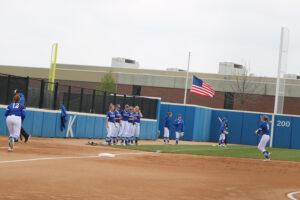 Softball warm up
