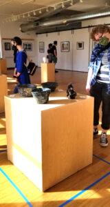 Raygun student art reception
