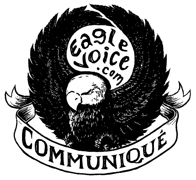 Communique eaglevoice.com logo.