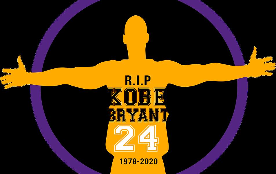 R.I.P. Kobe Bryant graphic